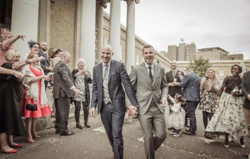 Wedding Photography Peckham Asylum